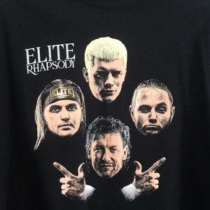 AEW Pro Wrestling Elite Rhapsody T Shirt Size 5XL